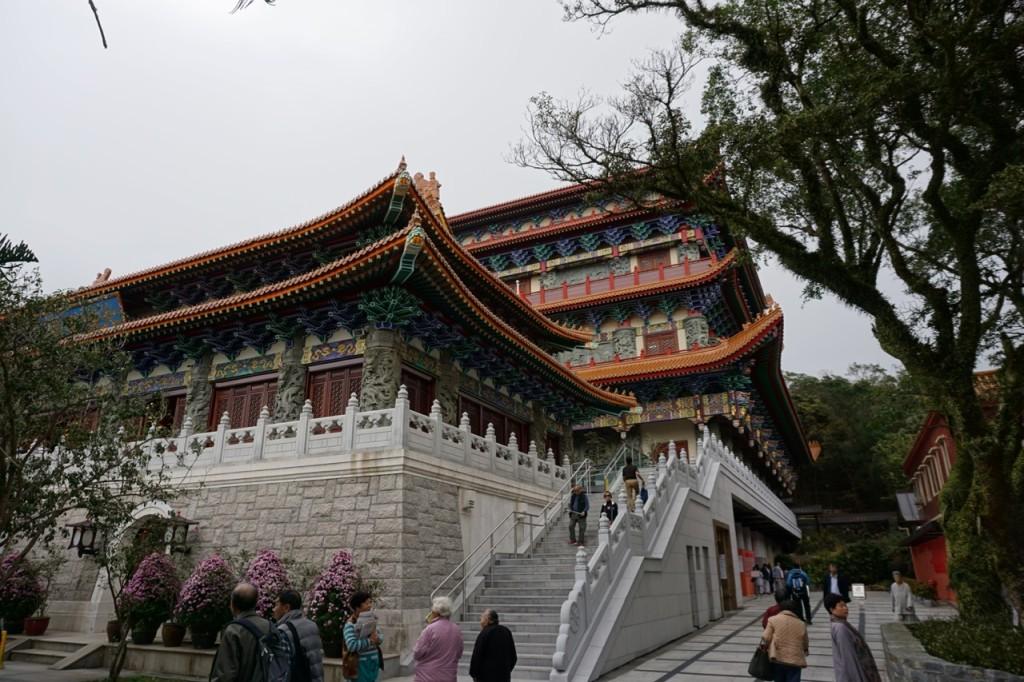 Po Lin Monastery Main Temple Hong Kong