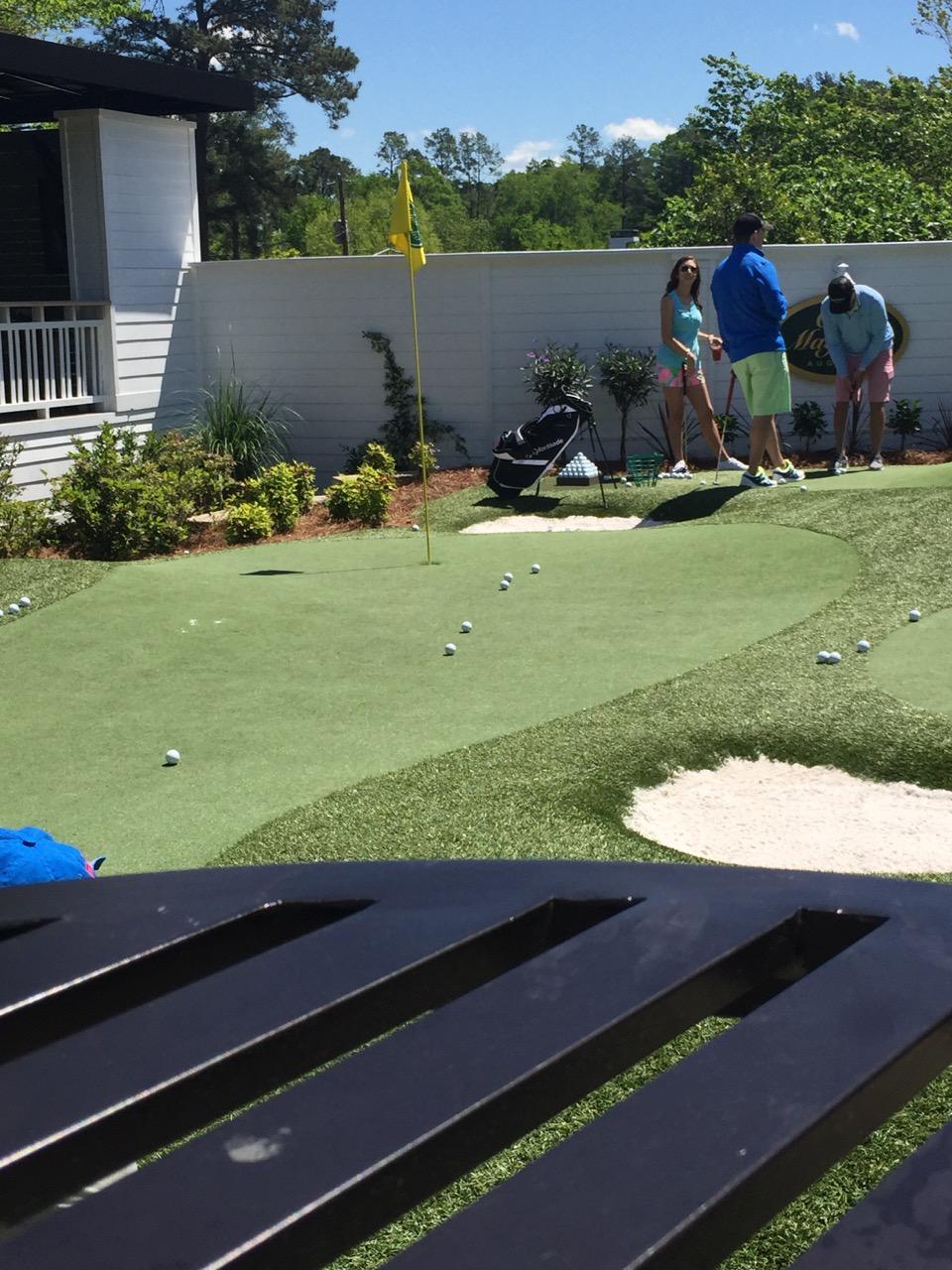 Putting course at Club Magnolia