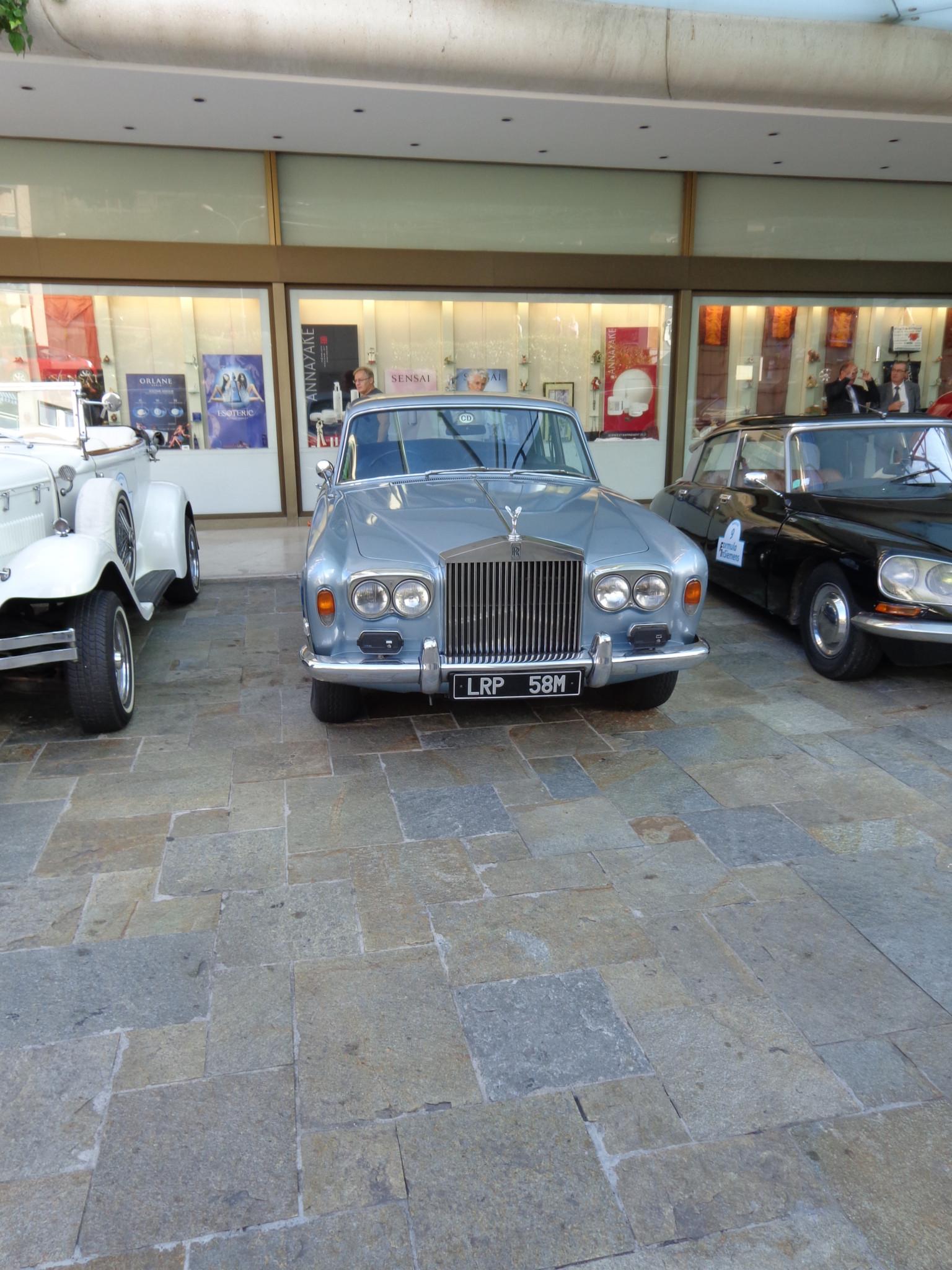 Monaco is full of fancy Cars