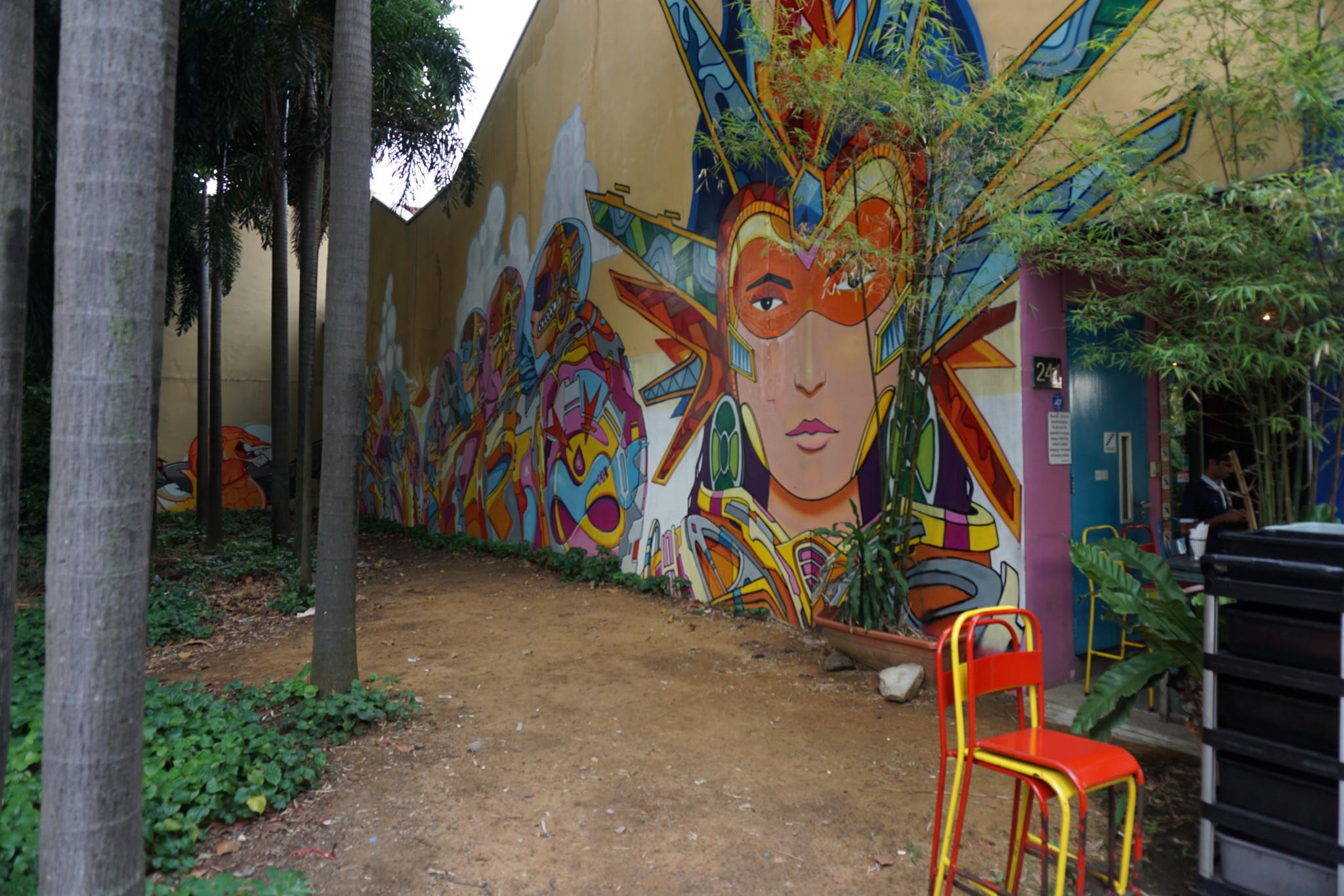 Cool Wall Mural at Haji Lane