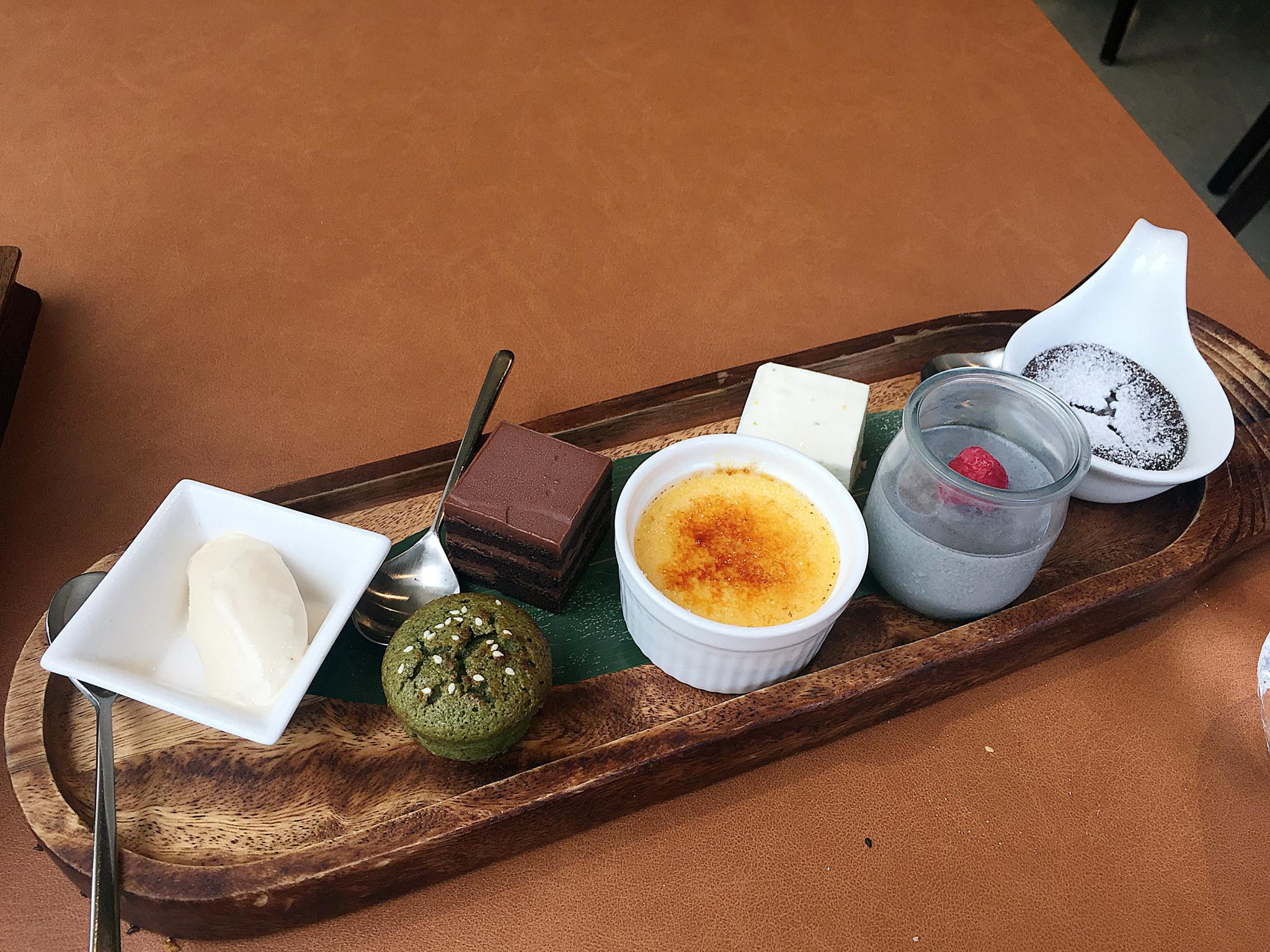 Osia Dessert Tray