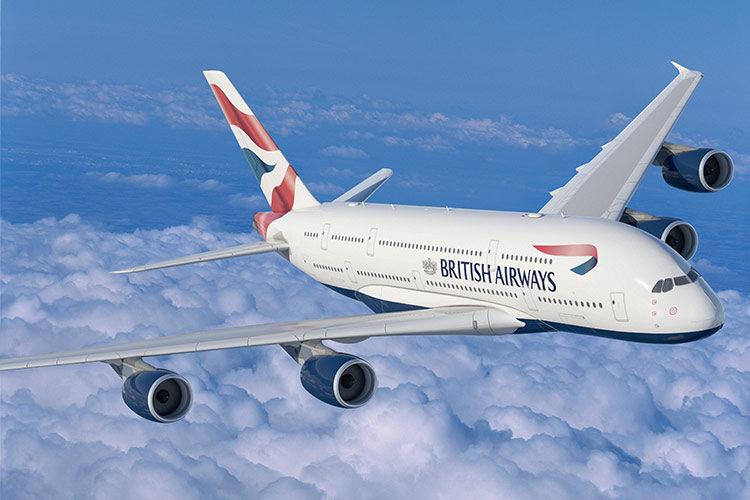 BA Airbus A380