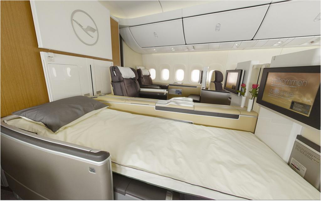 LH First Class from Lufthansa.com