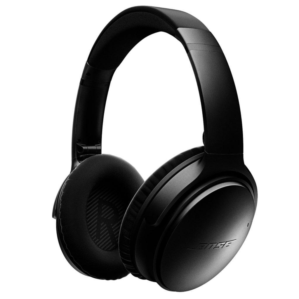The Bose QuietComfort 35 Wireless Headphones
